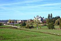 Château de Puy-Guillon Vue du promontoire Ⓒ Dominique Blanzat