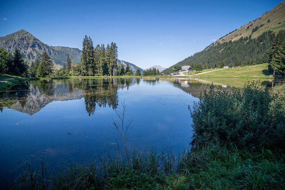 Lac des Mines d'Or (Geopark Chablais)
