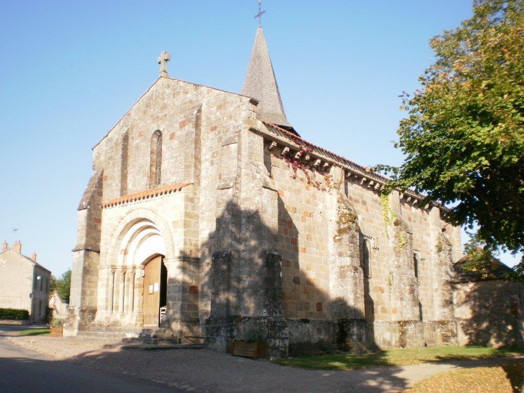 Église Saint-Martin -  Louroux-Bourbonnais Vue église Ⓒ Mairie -  Louroux-Bourbonnais