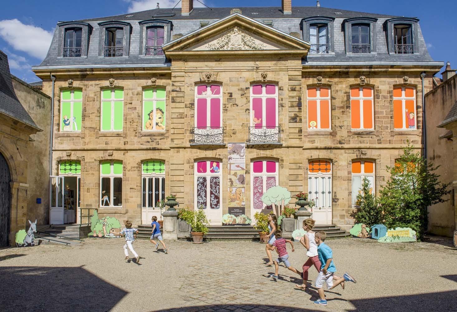 Musée de l'illustration Jeunesse Ⓒ Luc OLIVIER CDT03