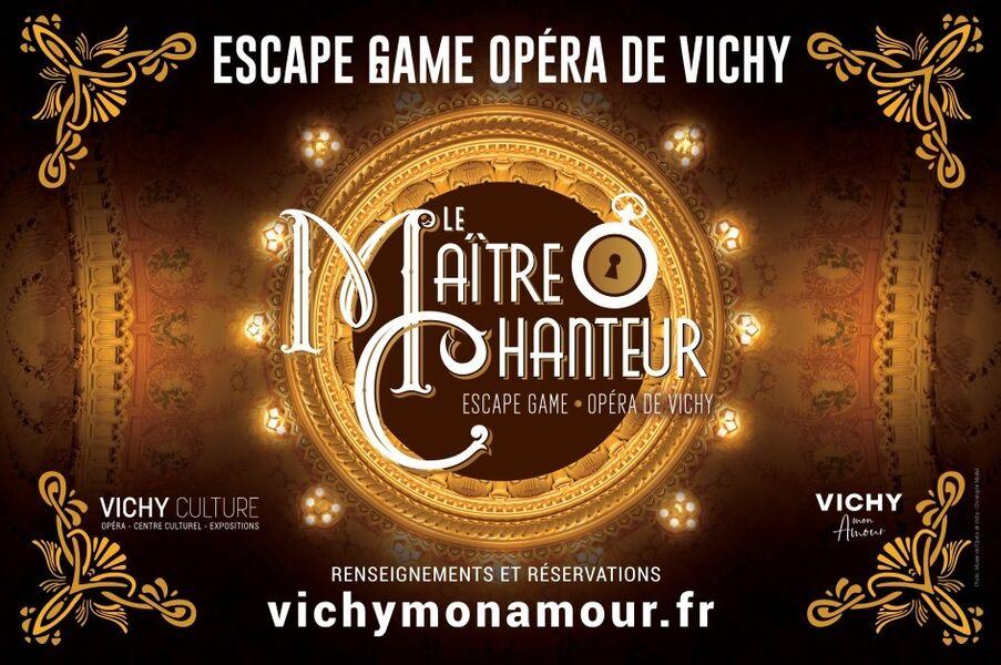 """Escape Game """"Le Maître chanteur"""""""