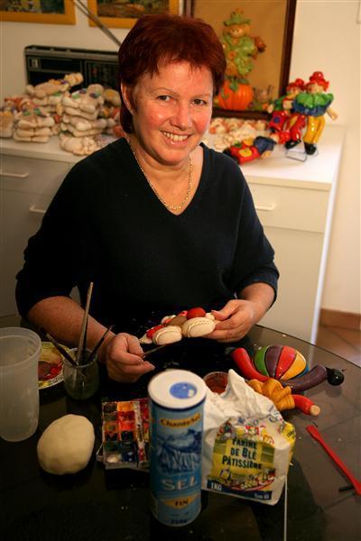 Ribambelle et Cie - Atelier de pâte à sel