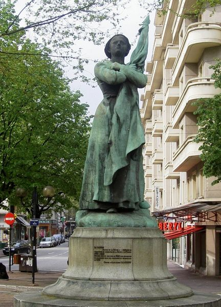 Statue La Sasson, Chambéry