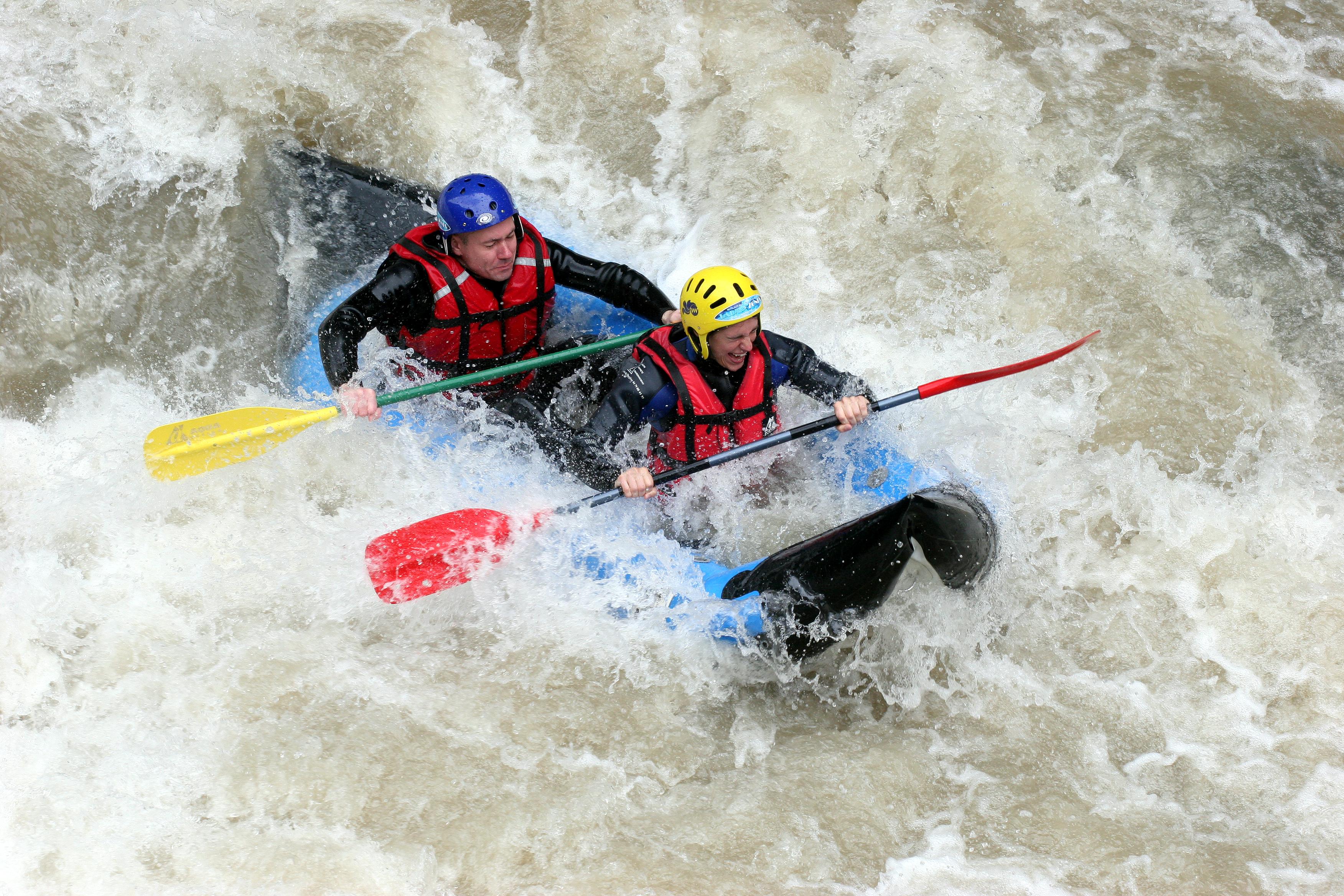 Sports d'eaux vives