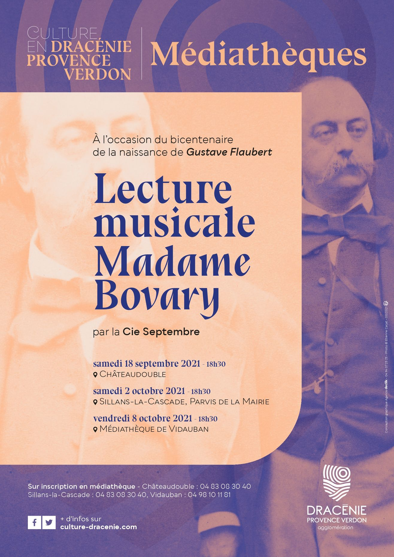 Lecture musicale Madame Bovary