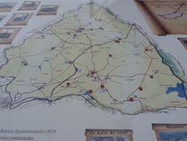 Parcours historique de Beaune-d'Allier Carte Ⓒ Annick Vassel - 2015