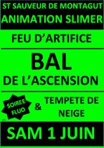 Ascension en fête : Feu d'artifice & bal en extérieur - Saint-Sauveur-de-Montagut