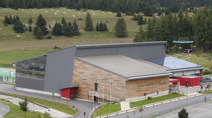 Centre Sportif du Dévoluy - � Viencent Favre