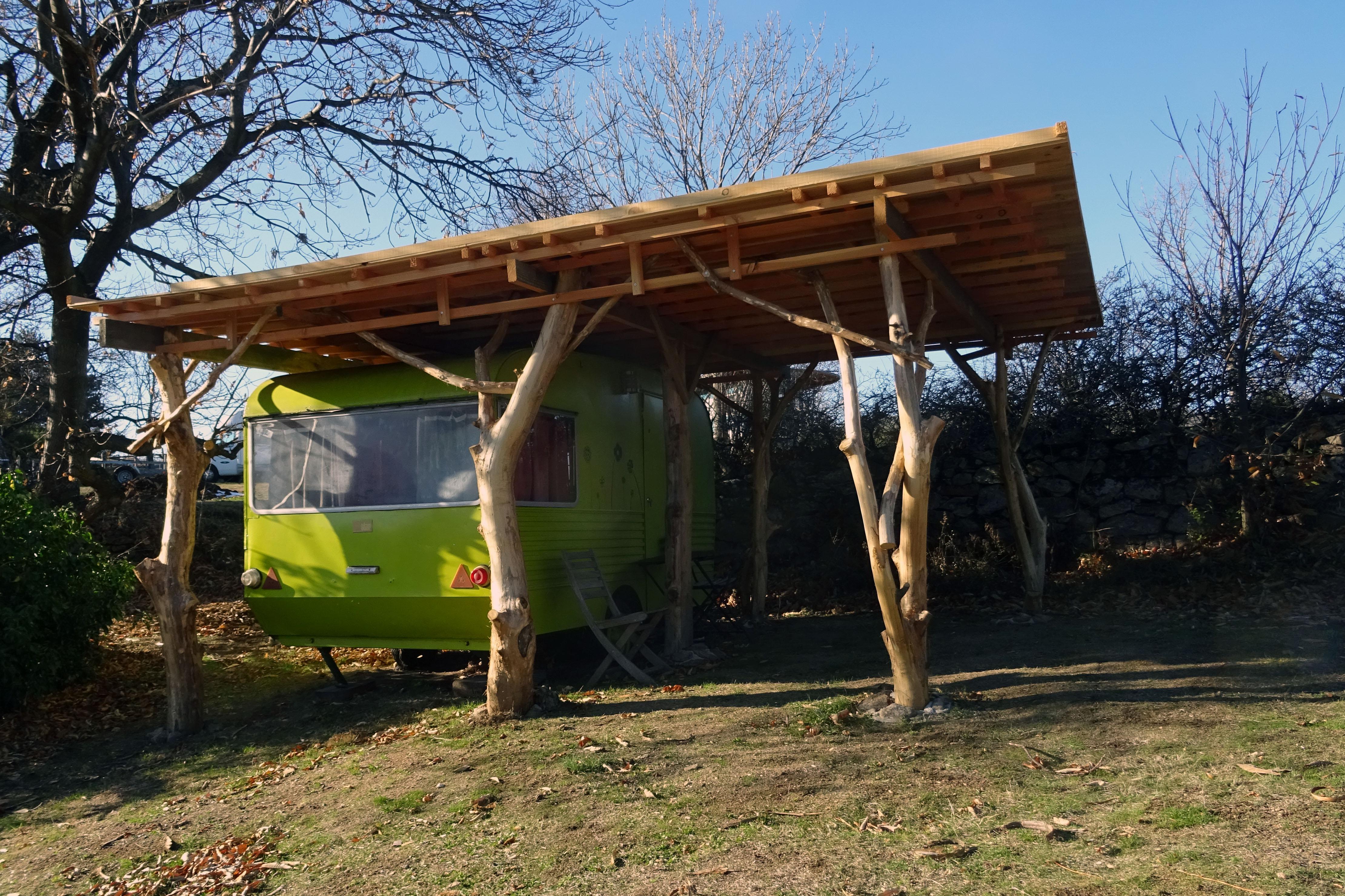 Hébergements insolites : La Caravane du Folastère