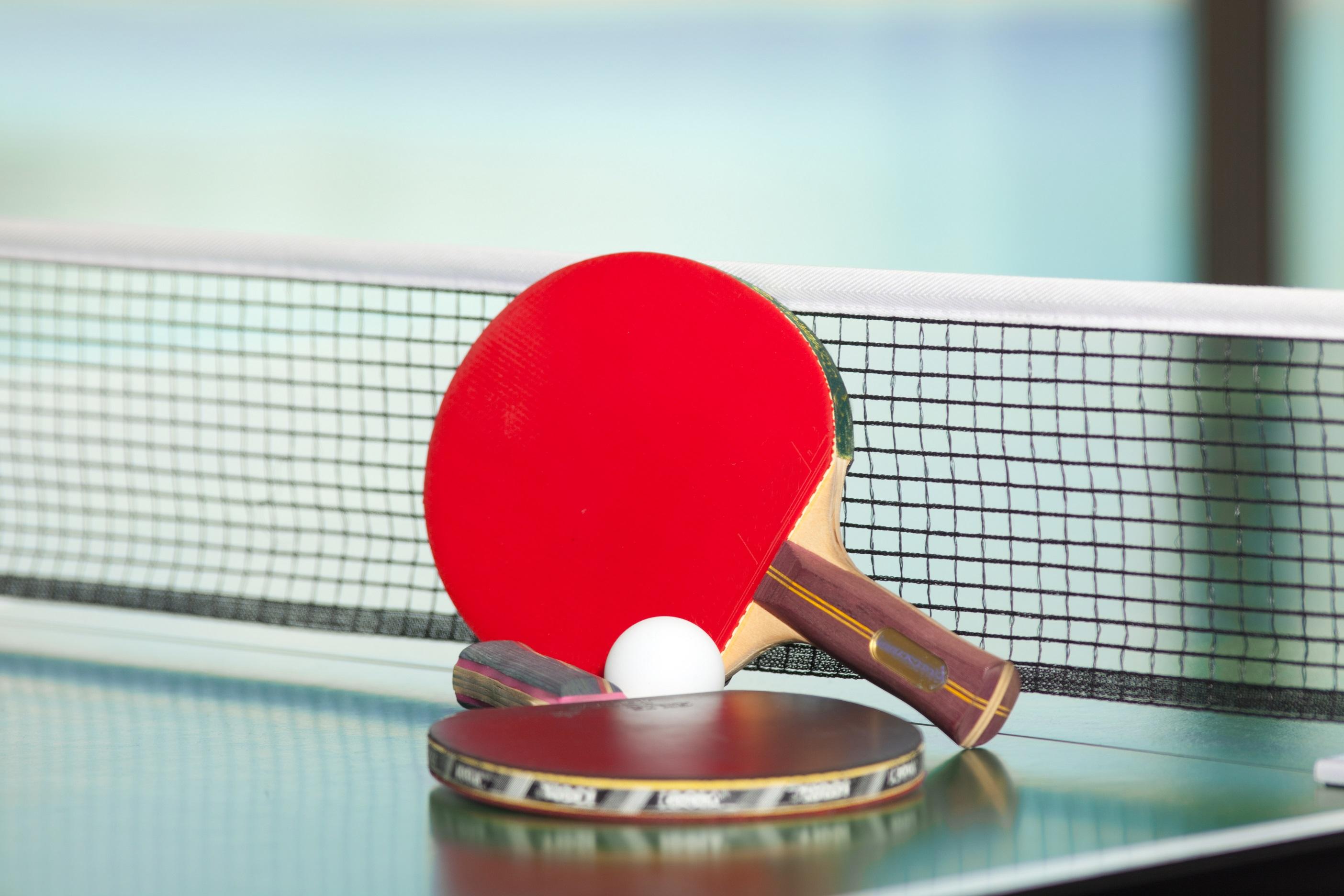 Tournoi de ping-pong.