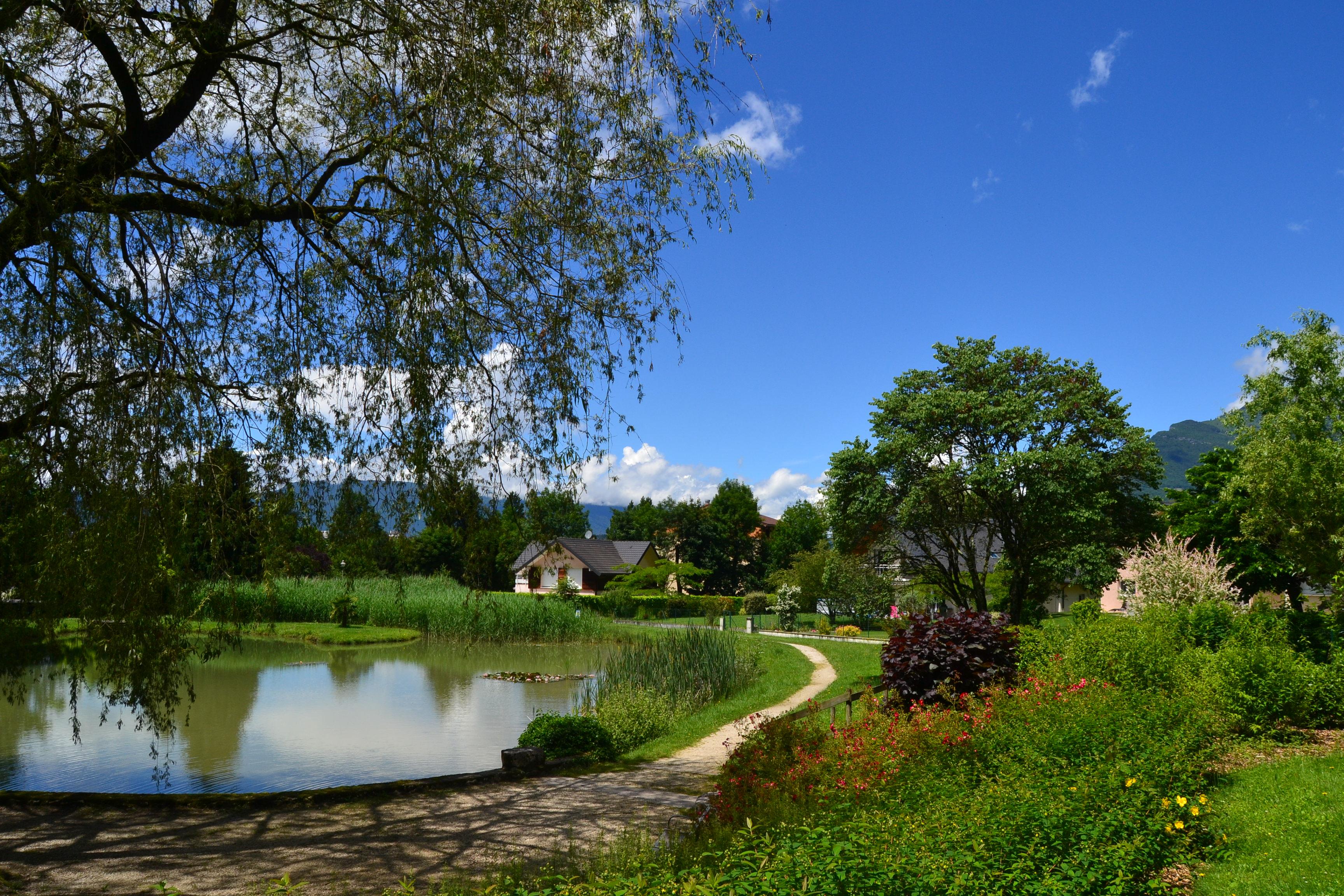 Parc de Triviers à Challes-les-Eaux
