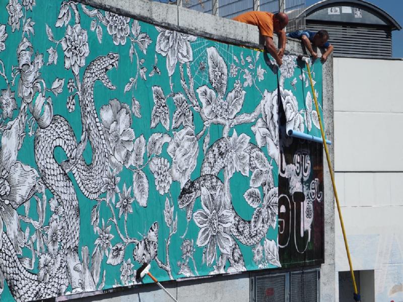 Illustration Street Art