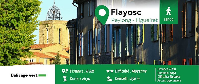 Randonnée pédestre : Flayosc - Peylong - Figueiret