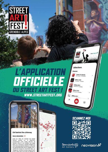 Application web Street Art Fest