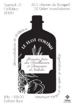Le Flot Continu : Première foire des distillateurs et brasseurs d'Ardèche - Saint-Didier-sous-Aubenas
