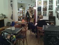 le salon de thé de la librairie