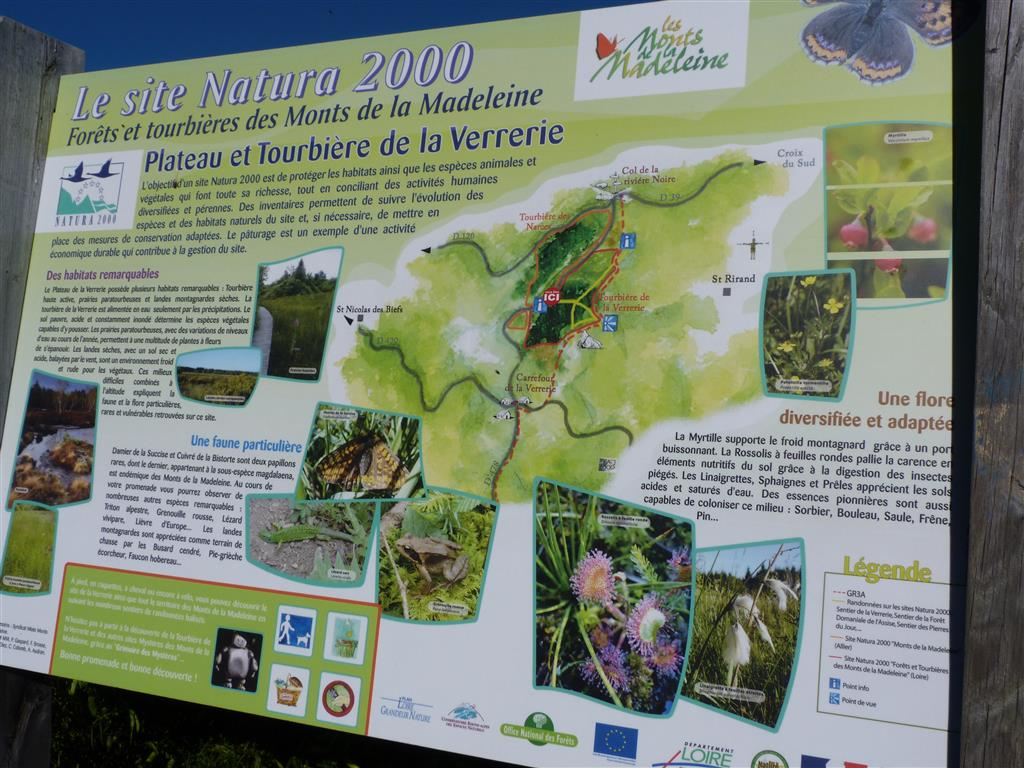 Sentier aménagé Saint-Nicolas-des-Biefs Panneau Ⓒ A.Vassel/CDT03