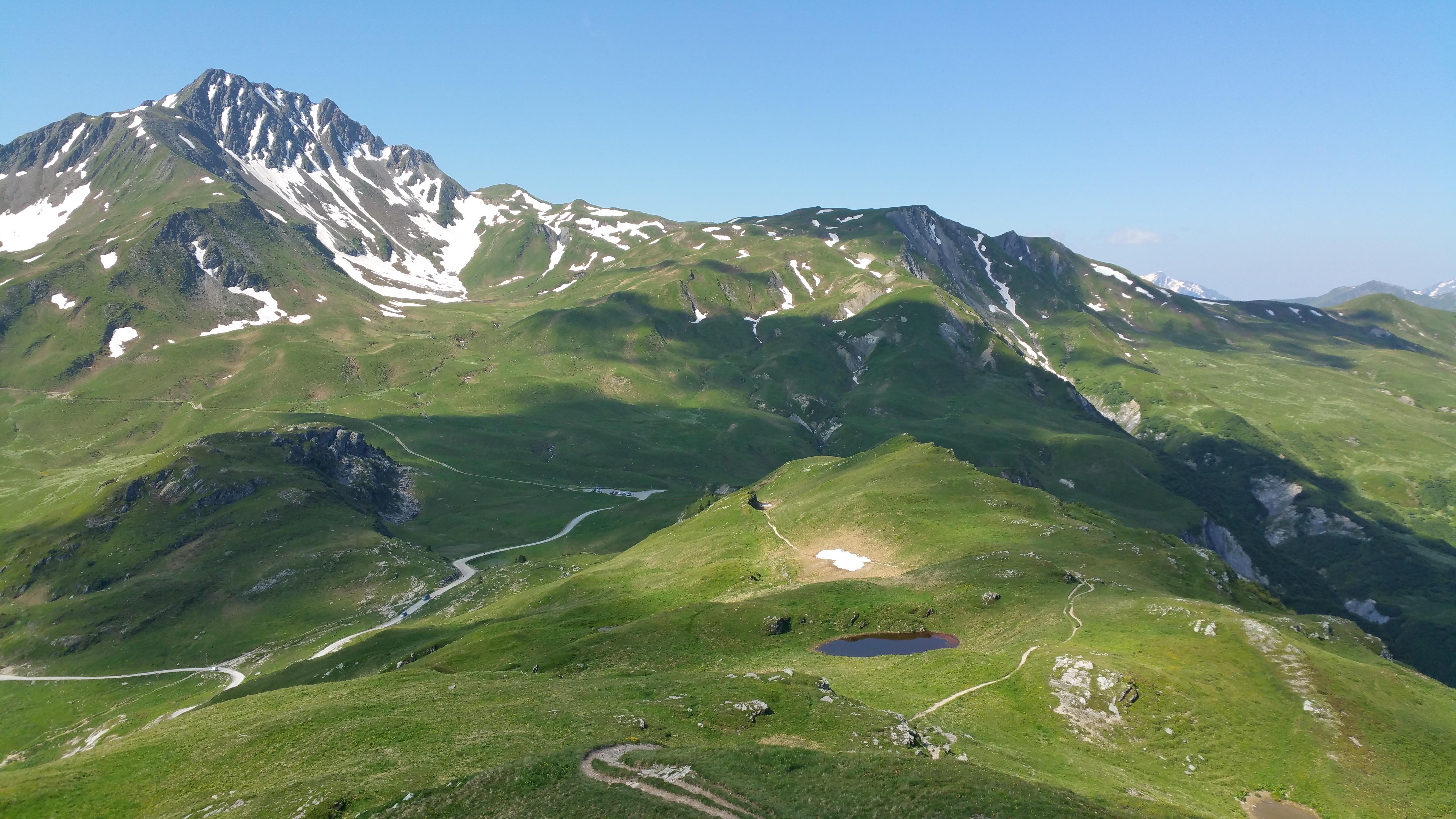 Sentier Tour du crêt du Rey vallée de la Plagne
