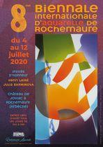 8ème Biennale internationale d'aquarelle de Rochemaure
