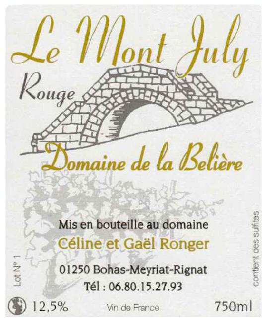 Domaine De La Beliere - Cerdon - Rongier Céline et Gaël