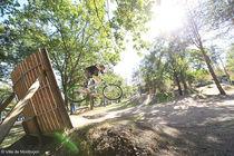 Bike Park Obstacle Ⓒ ville de Monltuçon