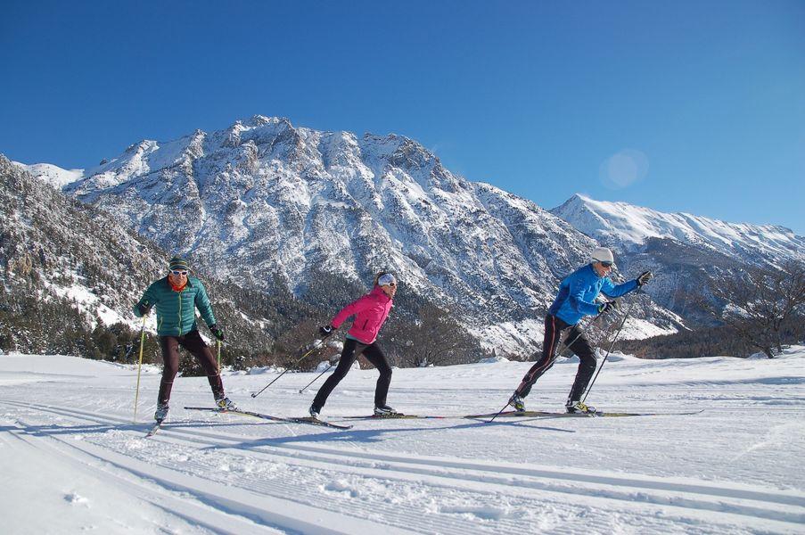 Ski de fond Nevache - © ESF Nevache