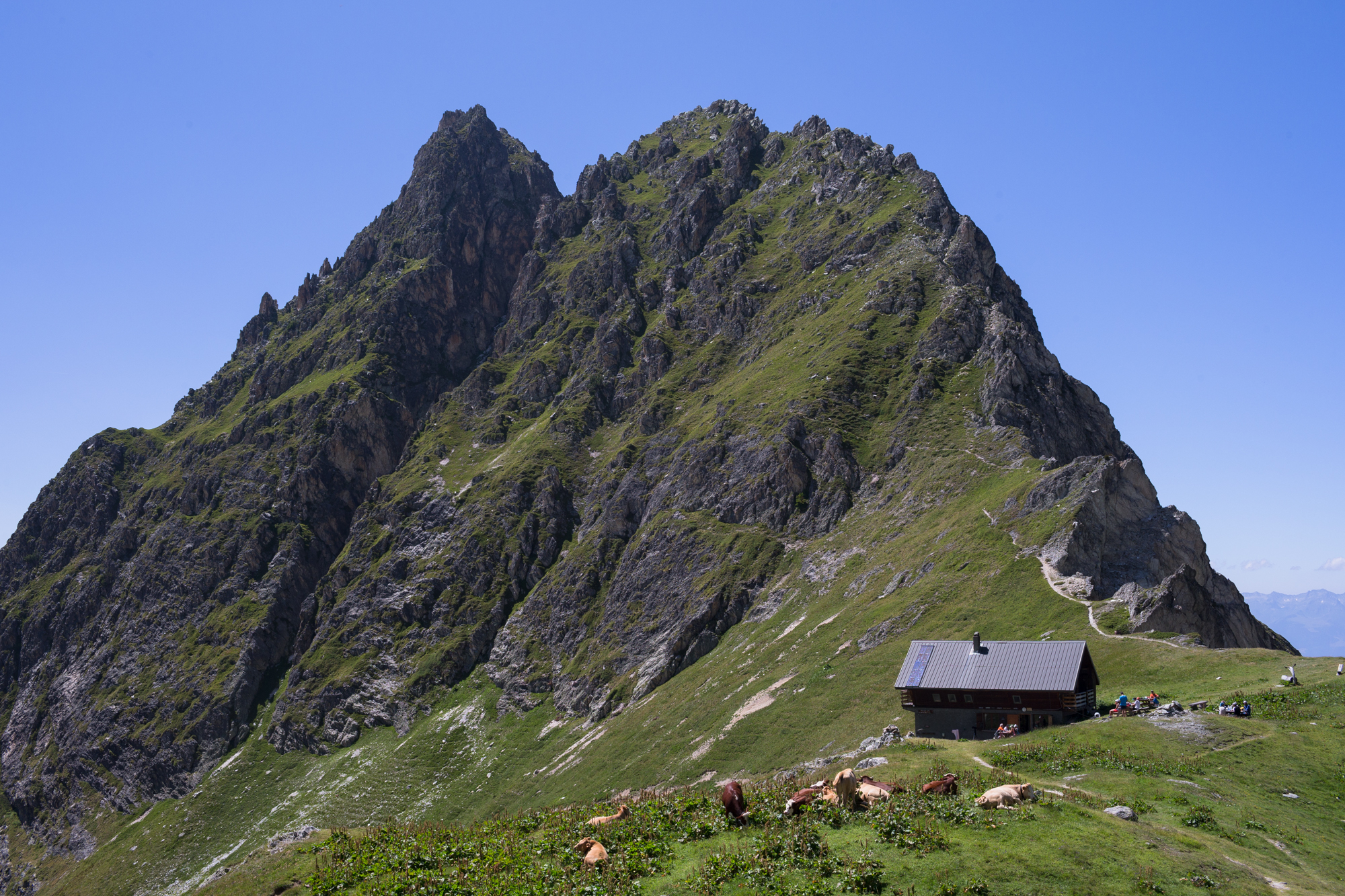 Refuge du Grand Bec - Planay