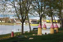 Village de Goule - Base de Loisirs Plan d'eau et aire de jeux Ⓒ Village de goule
