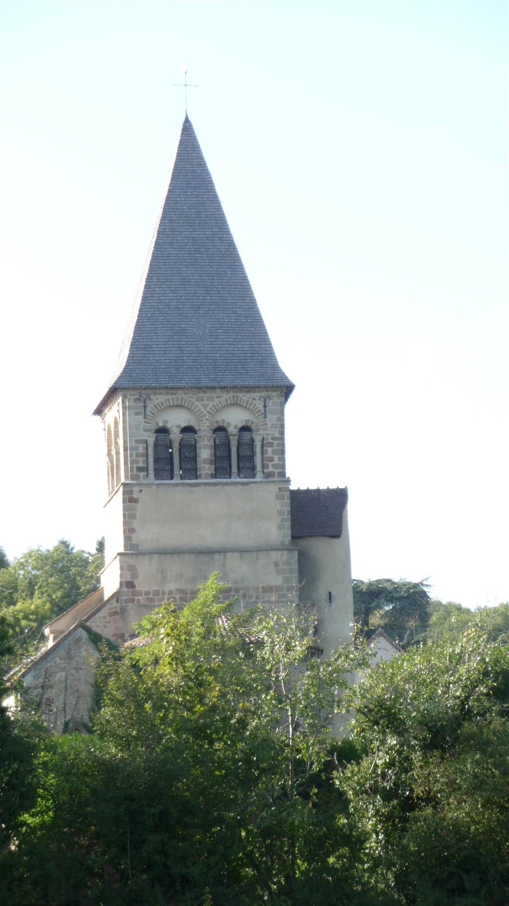 Église Saint-Pierre - Theneuille Clocher Ⓒ Mairie Theneuille