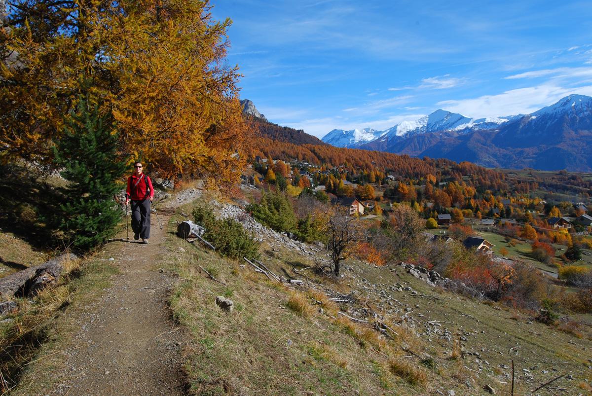 Canal de Malcros l'automne