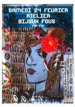 Atelier créatif à partir d'objets recyclés : Bijoux fous - Uzer