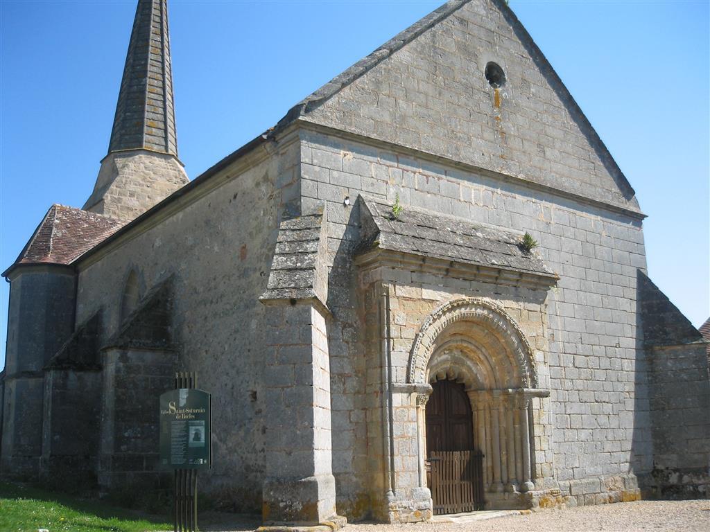 Eglise de Rocles Vue extérieure Ⓒ Mairie de Rocles