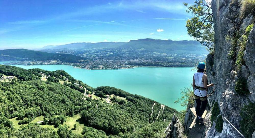 Activités de montagne - Via Ferrata Aix les Bains