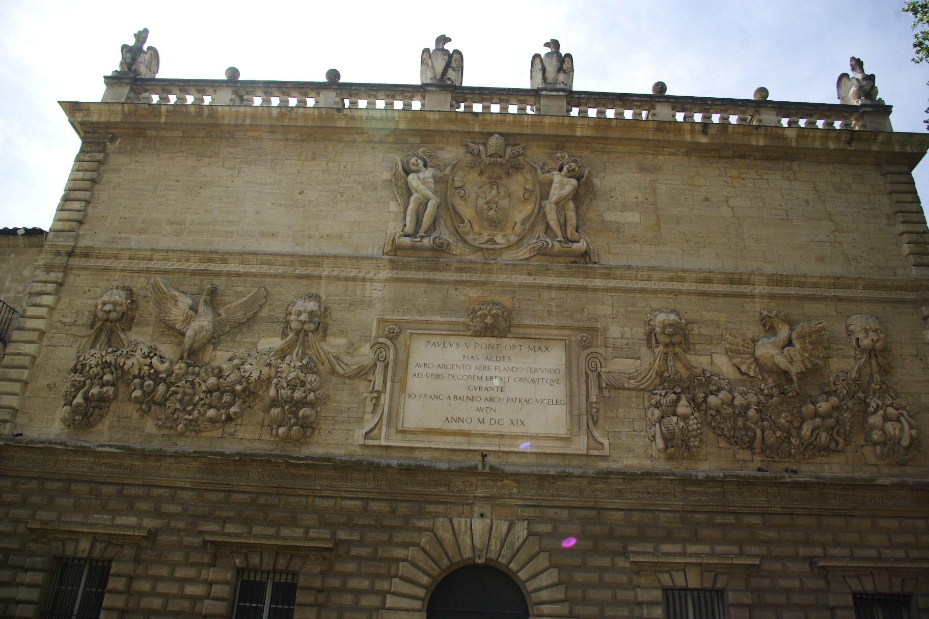 Façade de l'Hôtel des Monnaies