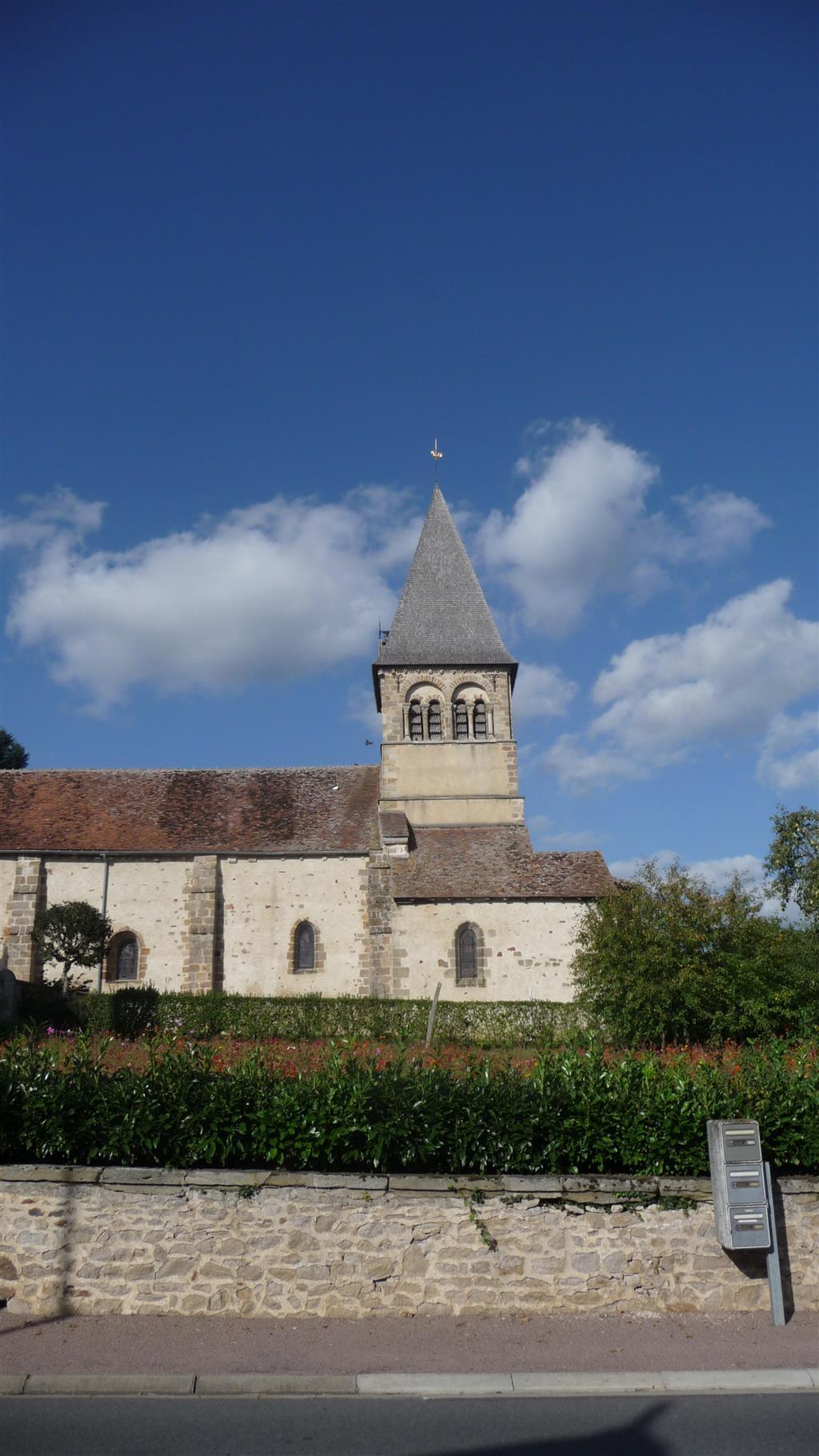 Église Saint-Pierre - Theneuille Vue église Ⓒ Mairie Theneuille