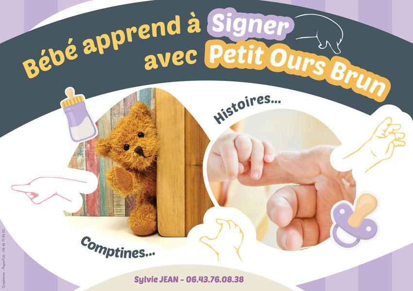 Atelier langues des signes pour bébés avec Sylvie Jean - © Sylvie Jean