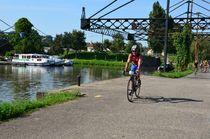 Balade champêtre autour de Beaulon Cyclos au port de Dompierre-sur-Besbre Ⓒ Louis Holder
