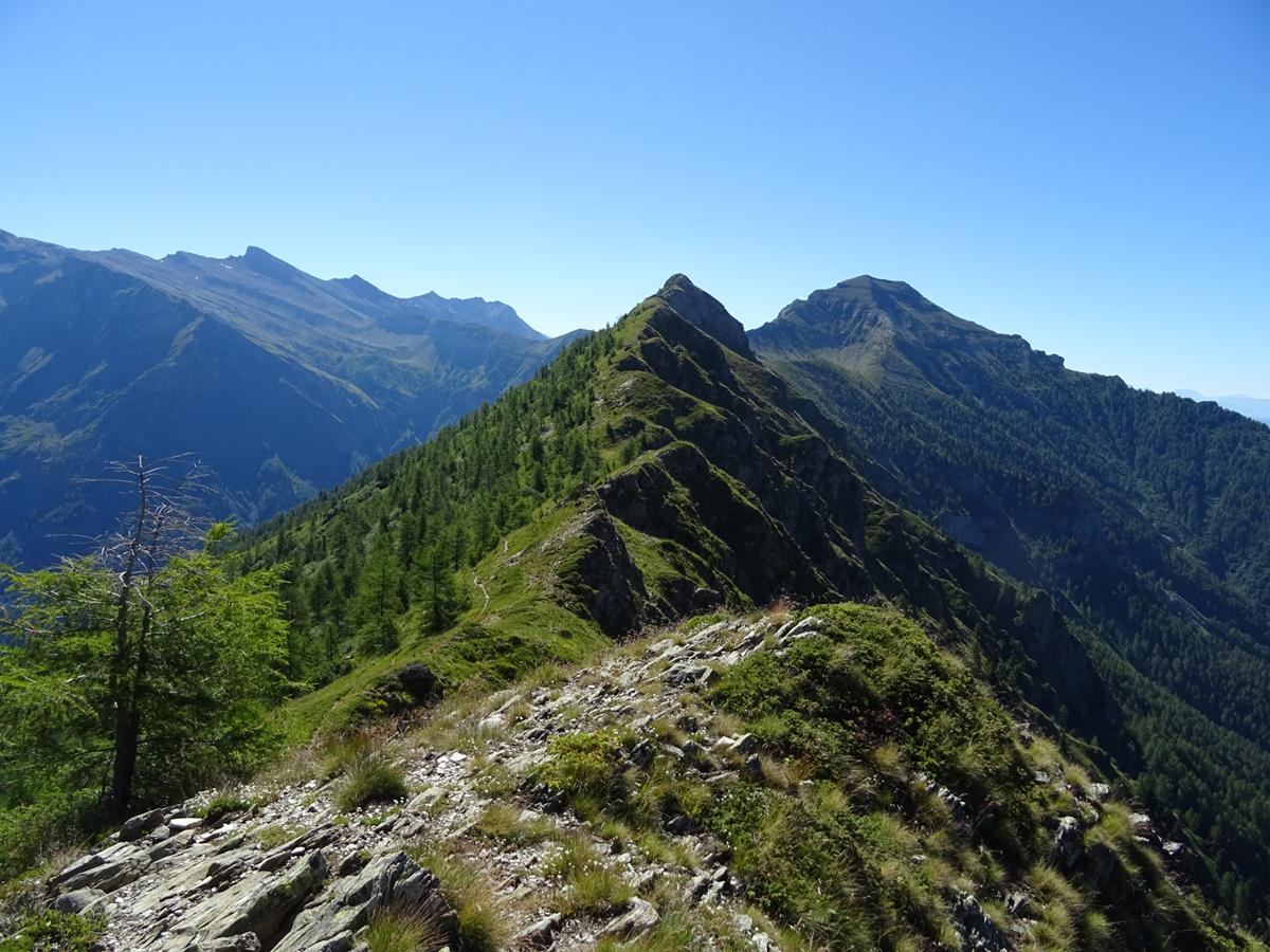 Itinéraire de randonnée jusqu'au Col du Cendrier