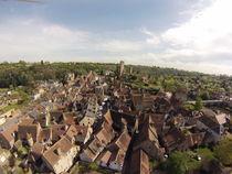 Hérisson, village et cité médiévale - Visite pédagogique Vue aérienne Ⓒ Hérisson