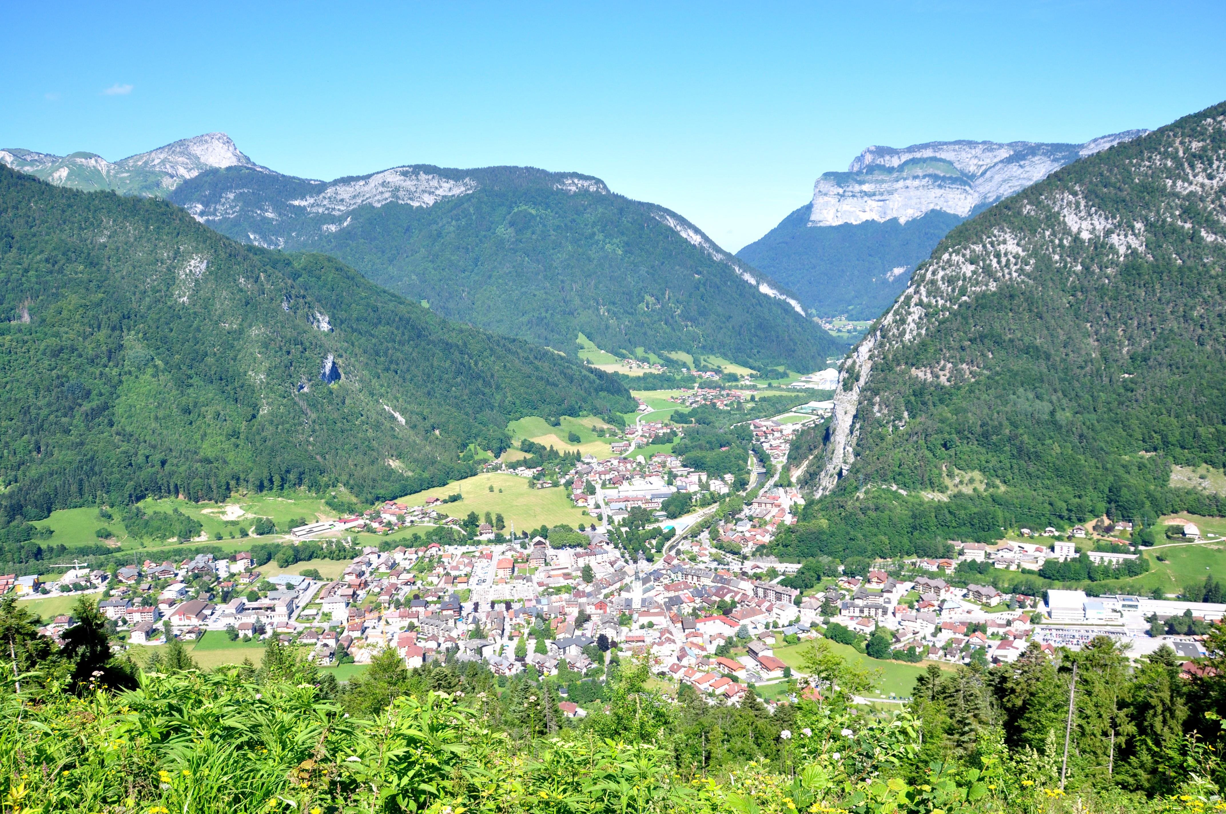 Point de vue depuis le sentier du Roi du Mont