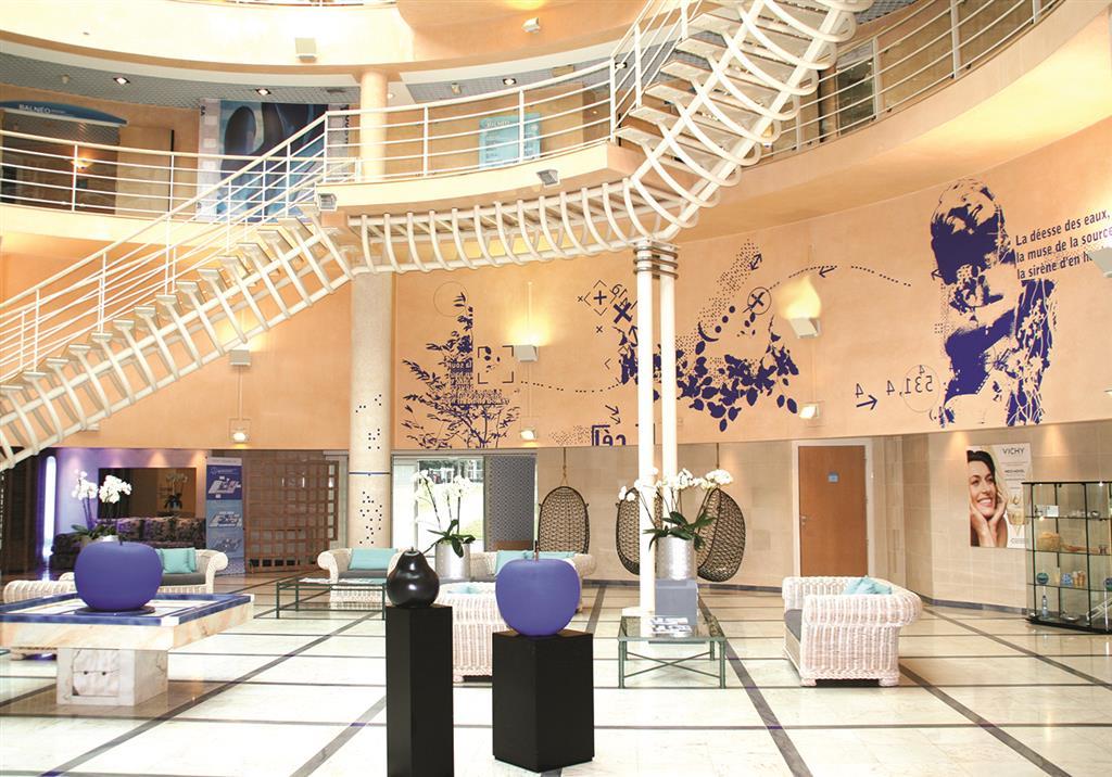 Vichy Célestins Thermal Spa Hall d'accueil Ⓒ Vichy Spa Hôtel Les Celestins
