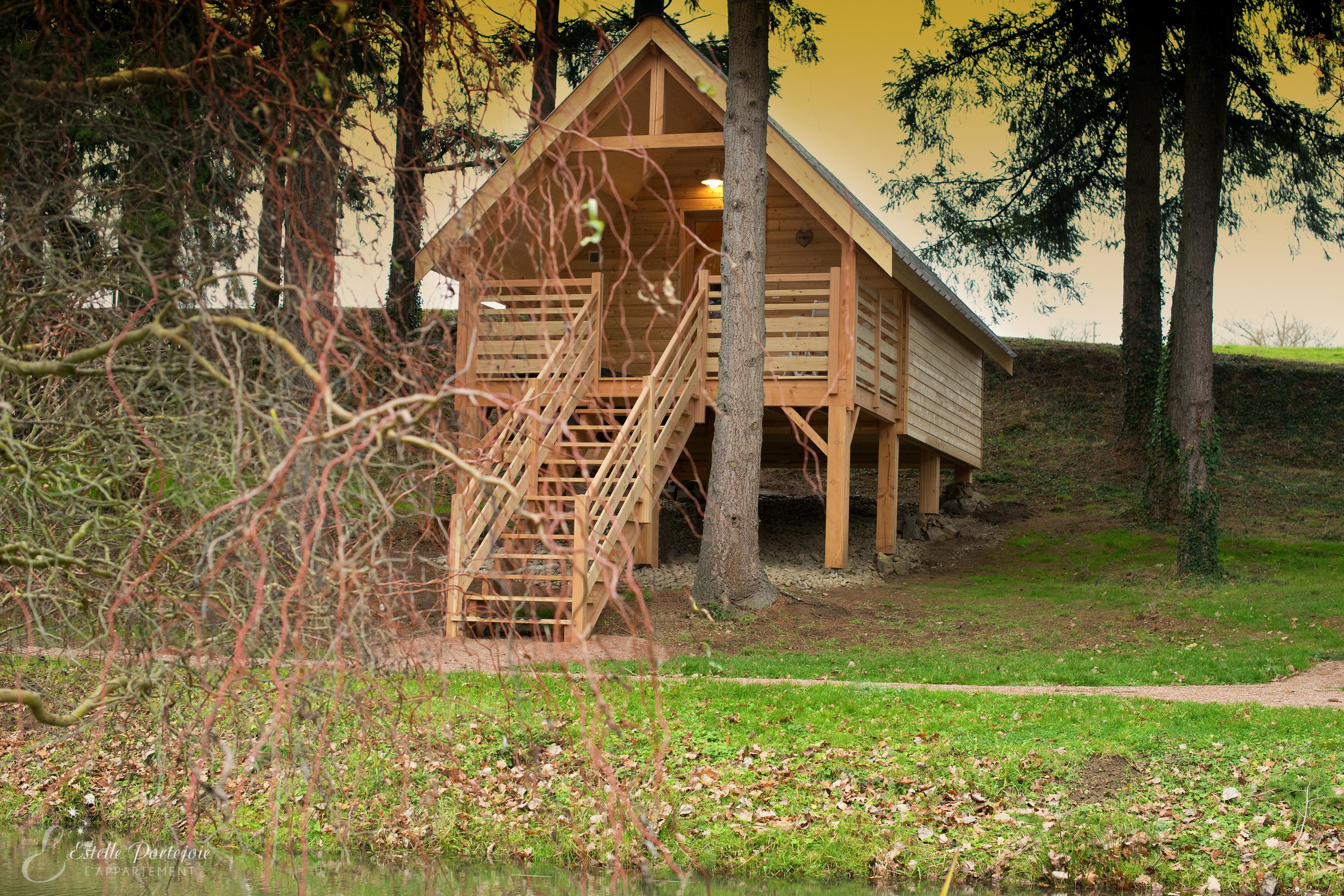 Cabanes de la Sapinière Ⓒ Cabanes de la Sapinière