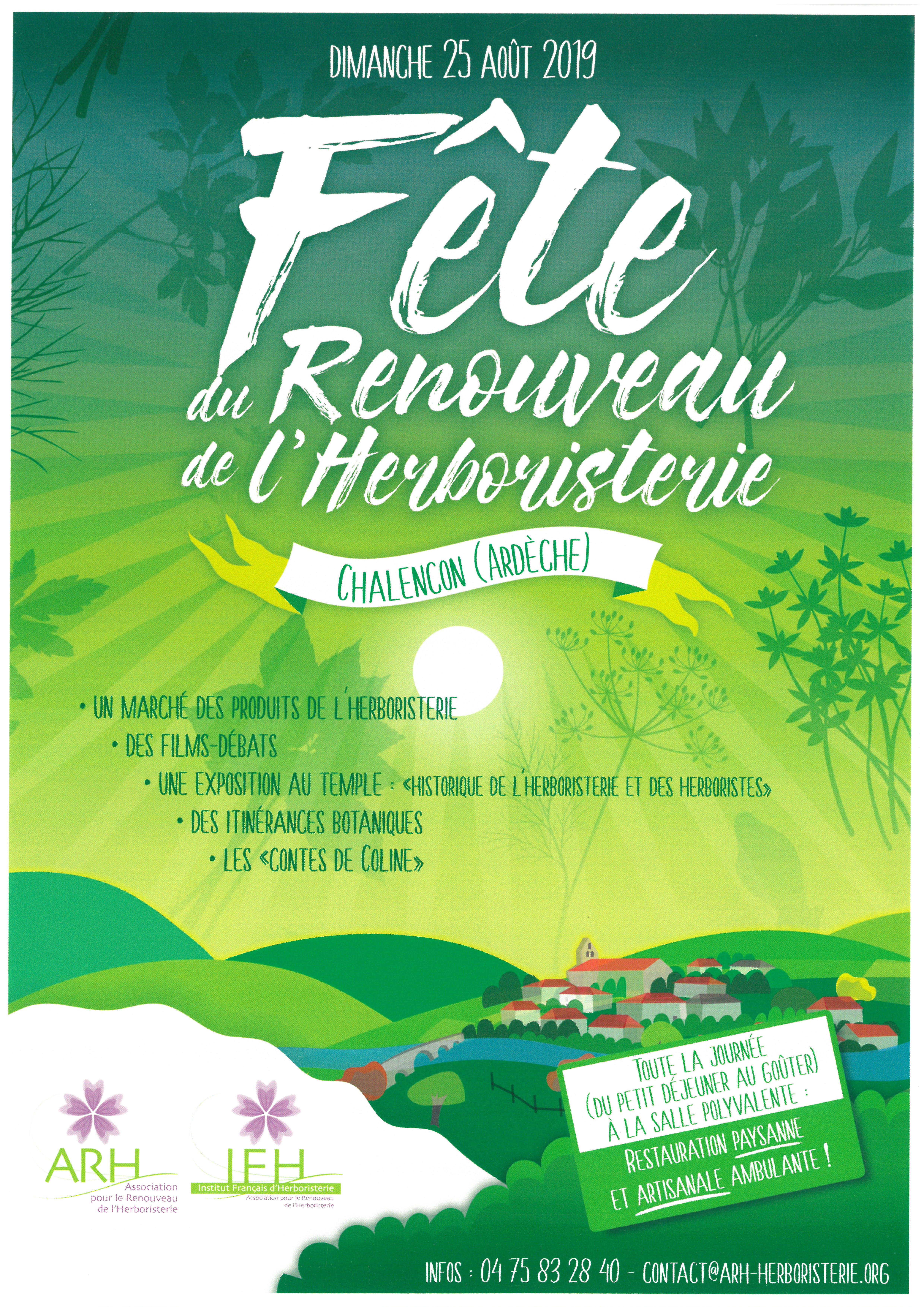 Events…Put it in your diary : Fête du Renouveau de l'Herboristerie