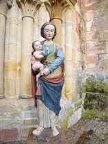 Église Notre-Dame Statue Vierge à l'oiseau Ⓒ Mairie - 2020