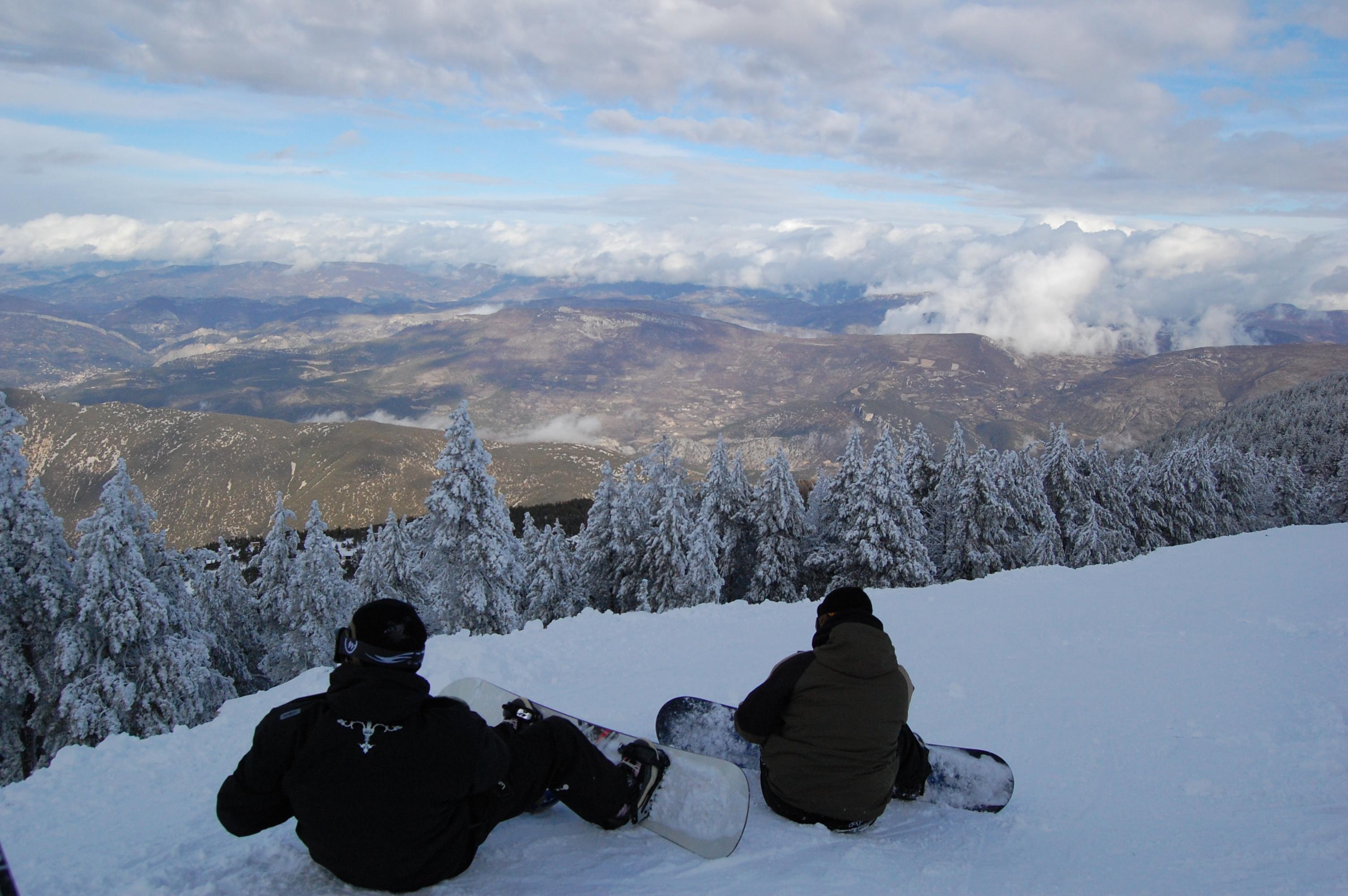 Activités hiver de la Station du Mont Serein