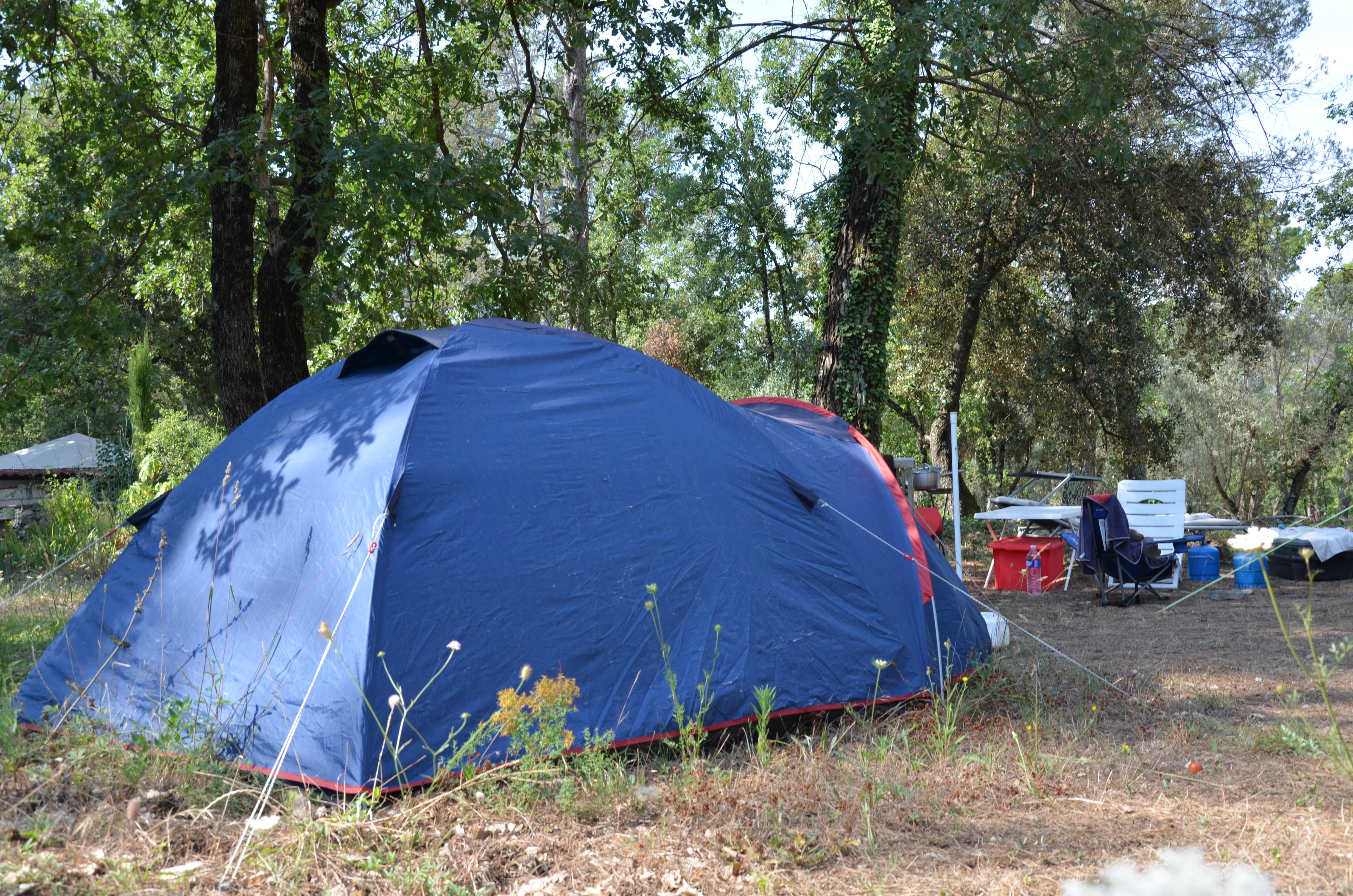 Camping naturiste - Domaine de la Haute Garduère