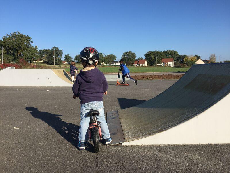 Skate parc Parc Bignon
