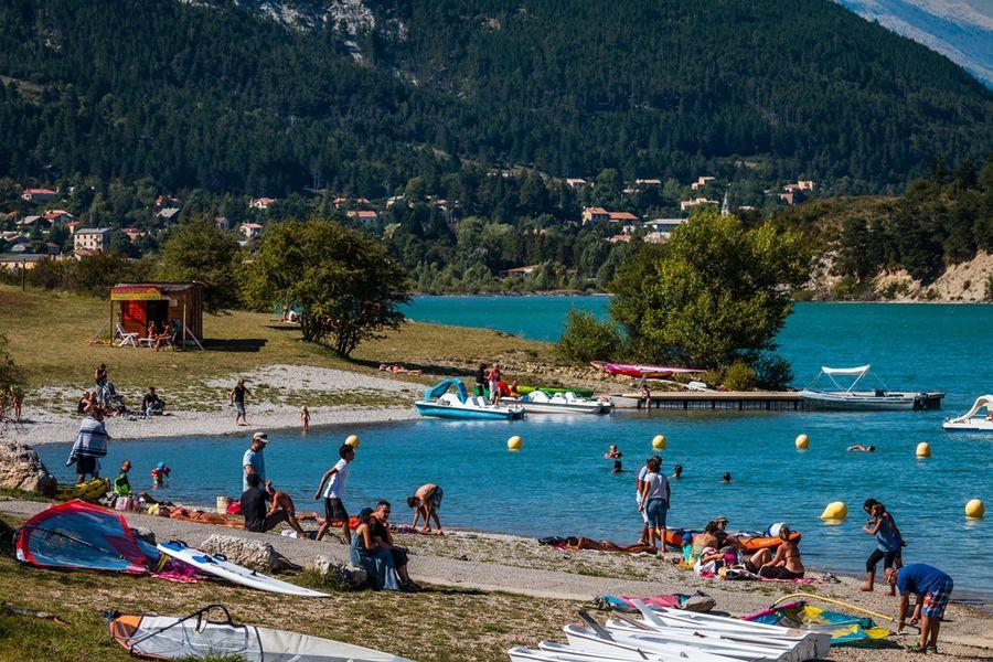 Plage du plan saint andr les alpes office de tourisme - Office de tourisme saint andre les alpes ...