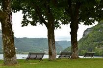 Lac de Nantua : route de Port