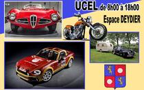 Rassemblement exposition de voitures et motos anciennes - Ucel